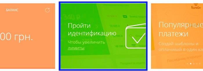 Интерфейс WalletOne